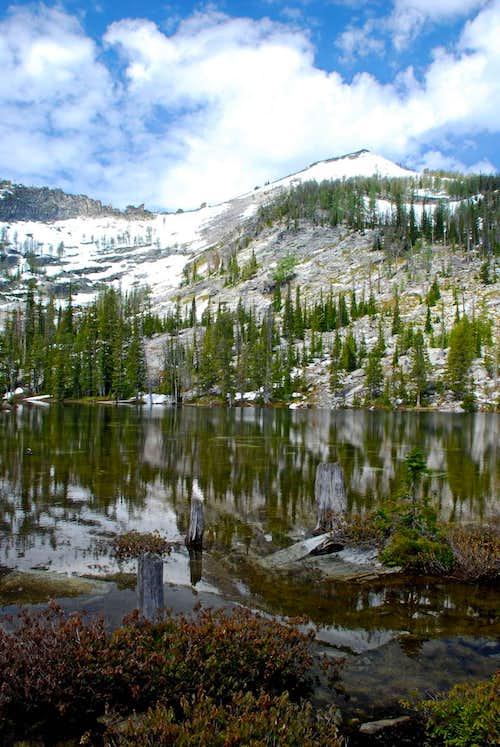 Kidney Lake Peak Above Kidney Lake