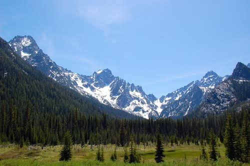 Sherpa Peak and Meadow