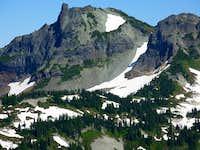 Unicorn Peak from Plummer Peak summit