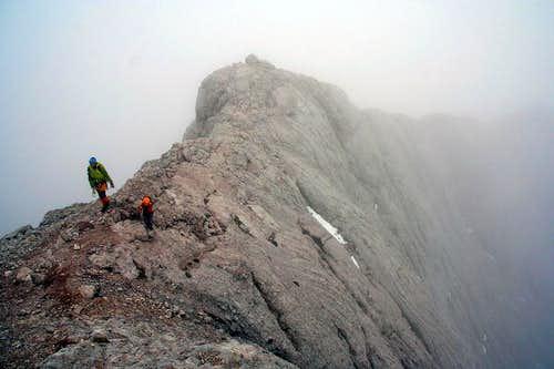 Jon Cruces & Fernando Climbing