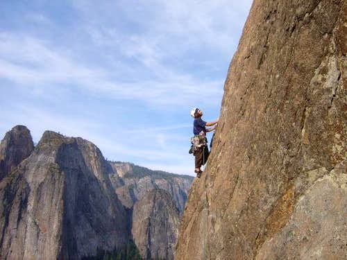 NE Buttress of El Capitan