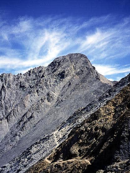 Borah Peak, summit block