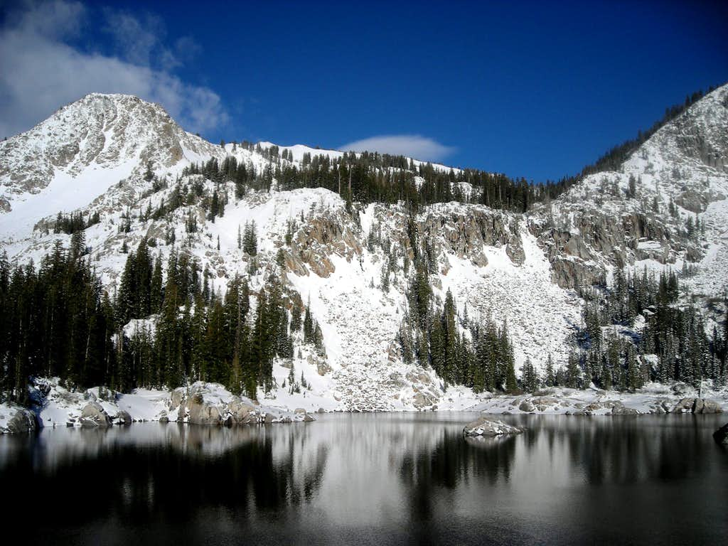 East Bowl and Mary Chutes