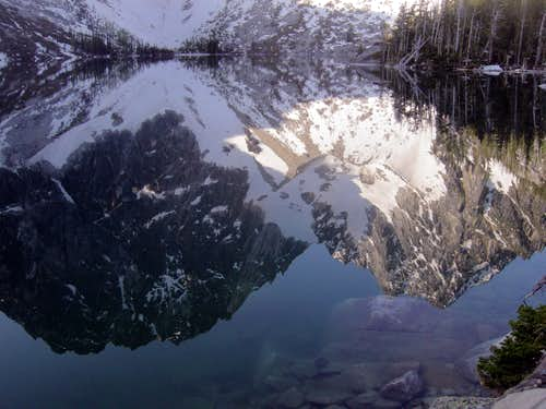 Dragontail and Colchuck Reflections