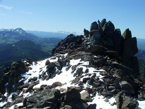 Nipple Peak Summit Block