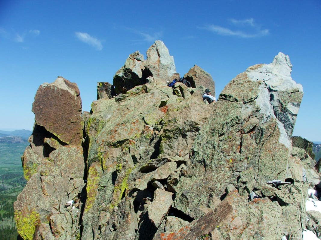 Nipple Peak's Summit Block