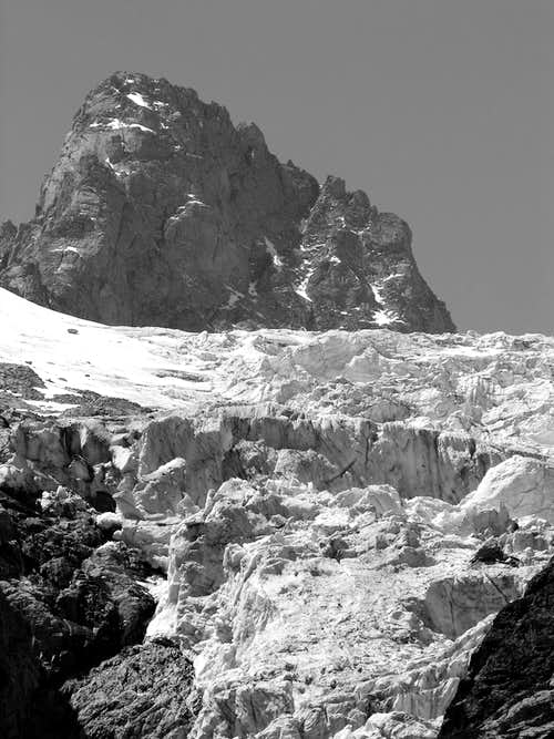 L'aiguille de Triolet (3870 m)