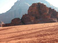 Rocks in front of rocks
