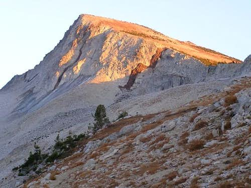 Eagle Cap in the sunset from...