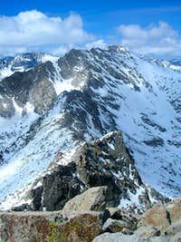 Pyramid south ridge
