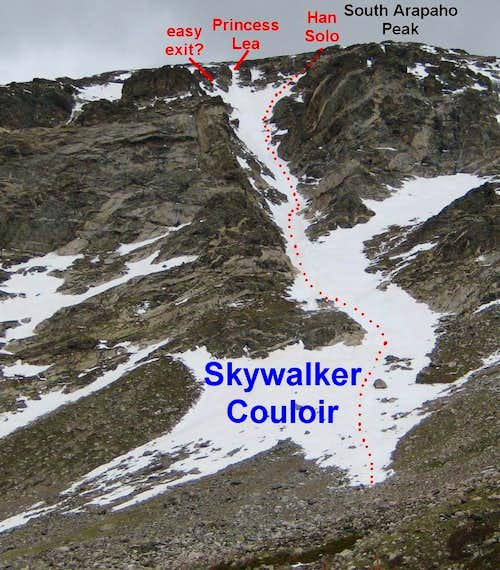 Holy Toledo That's Steep: Arapaho Peaks Skywalker Couloir & Traverse