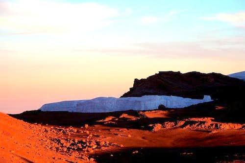 Kilimanjaro - First sunlight...