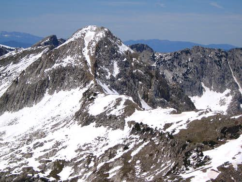 Pfeifferhorn viewed from White Baldy