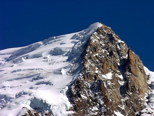 Mont Blanc du Tacul (4248 m), NW side