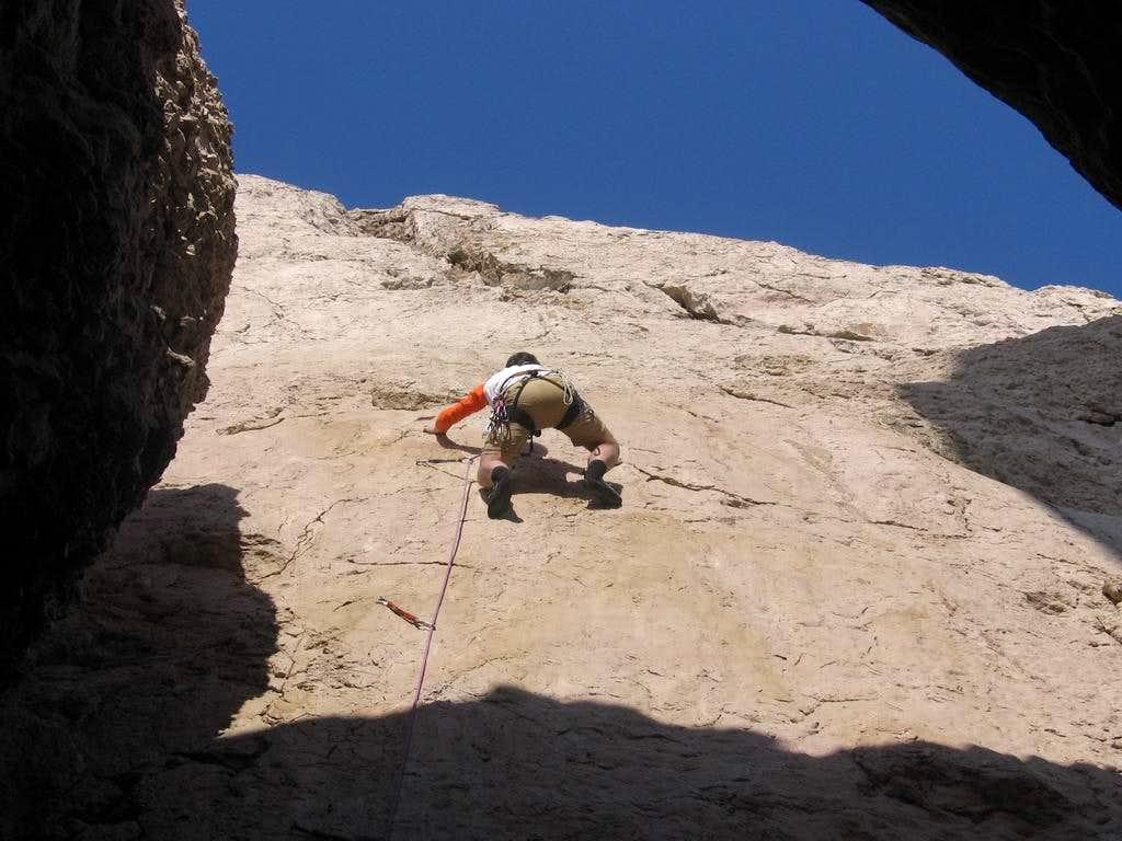 Climbing V+ (5.8)