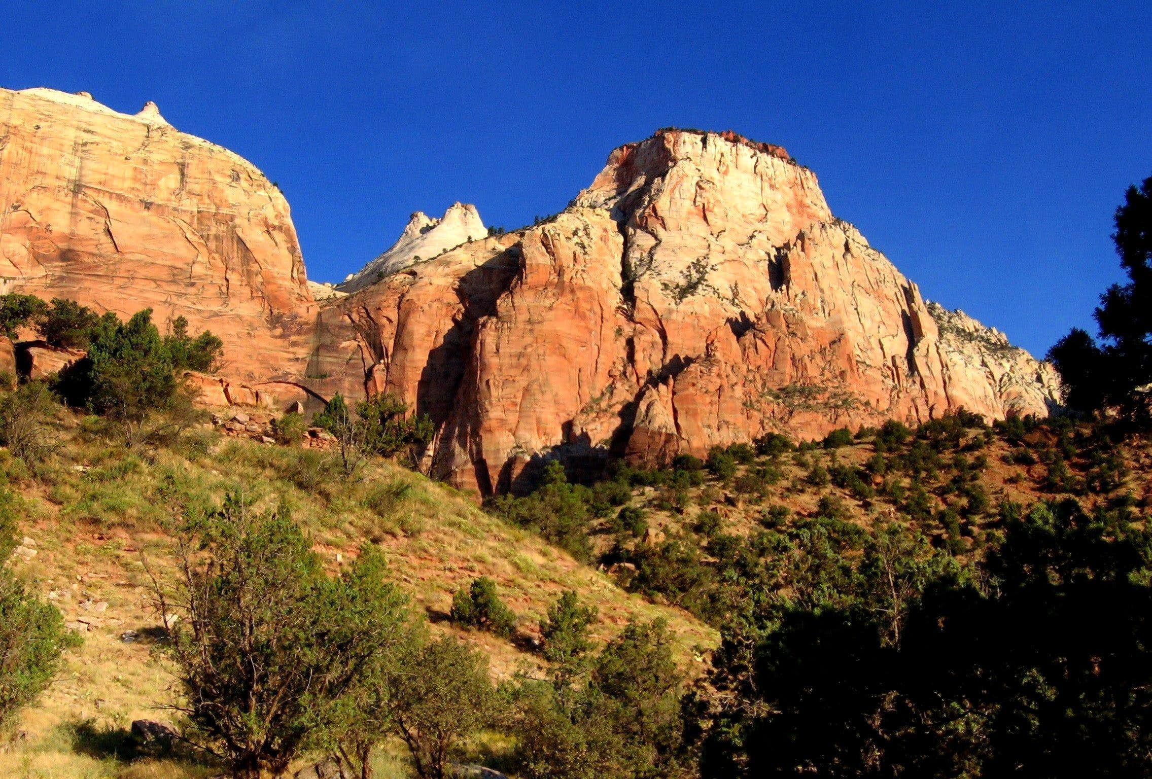 Early morning @ Zion; September 2005