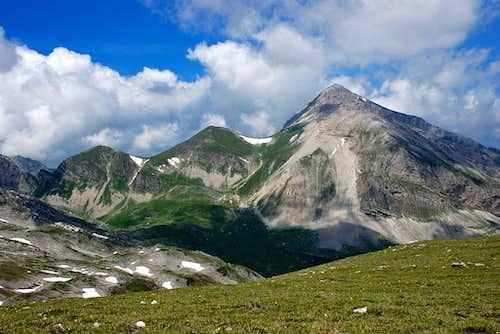 Monte Corvo seen from west