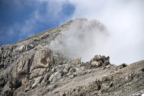Monte Corvo, southeast ridge