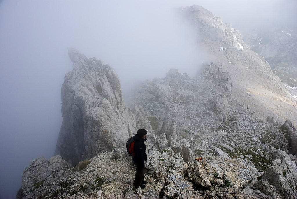 Monte Corvo, southeast ridge 2