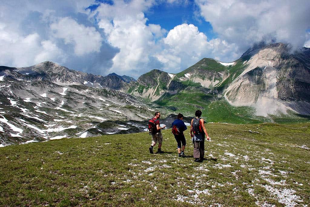 Monte Corvo wilderness