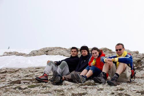 Monte Corvo-summit photo