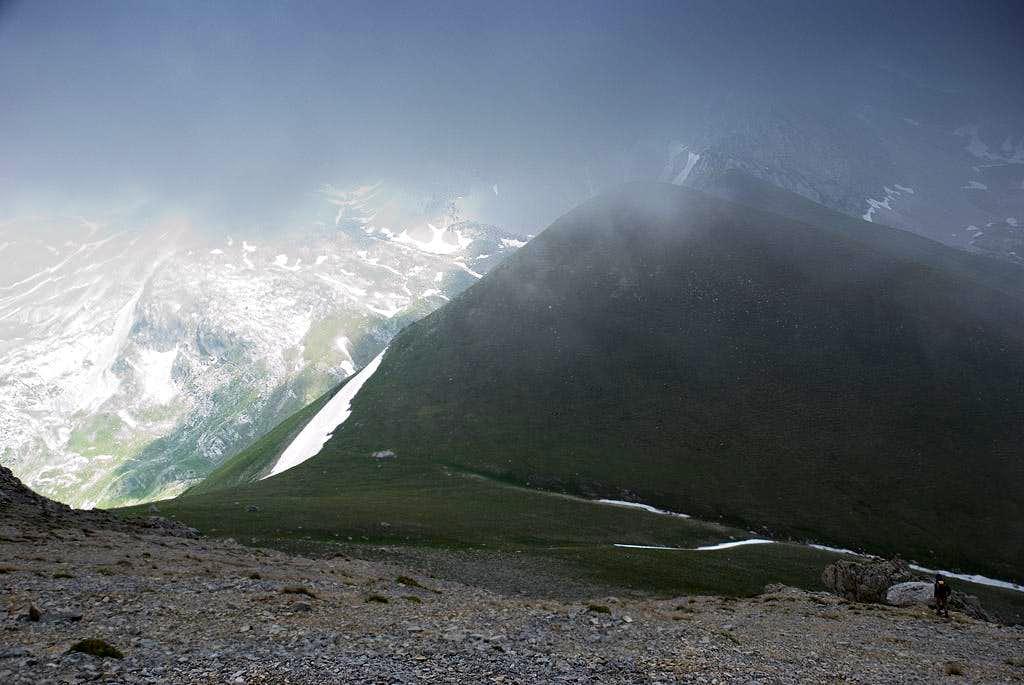 Sella di Monte Corvo