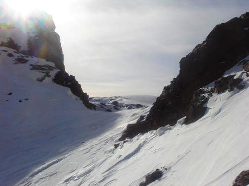 Road to the summit