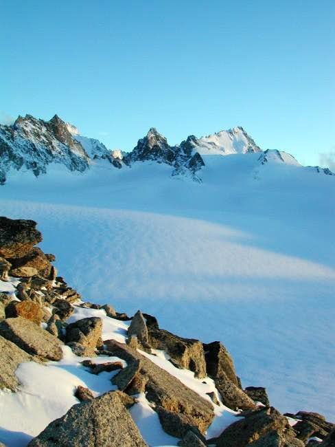 The Chardonnet seen from the...