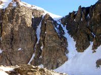 Southwest Couloirs