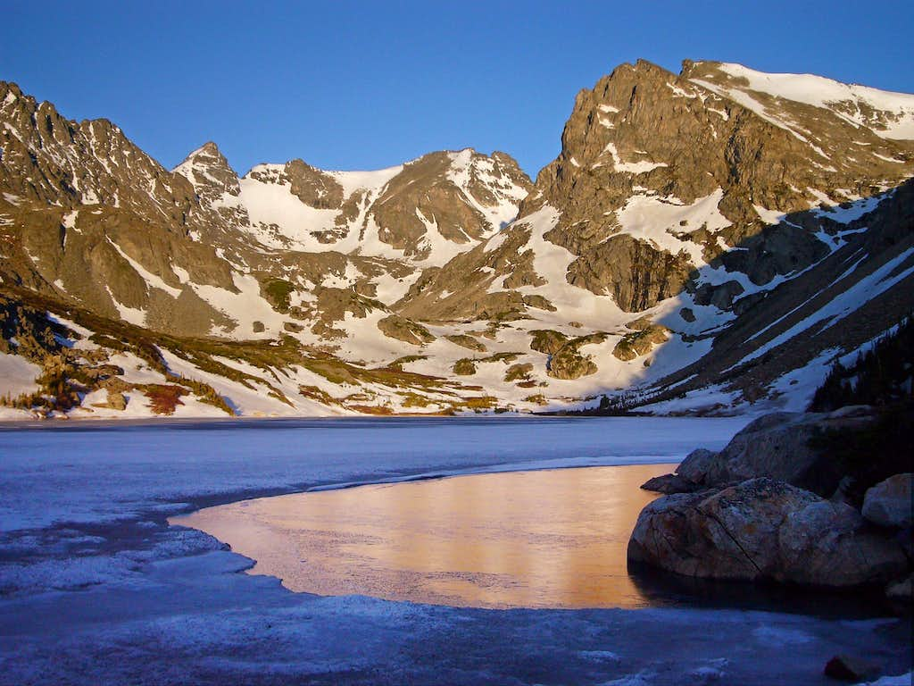 From Lake Isabelle