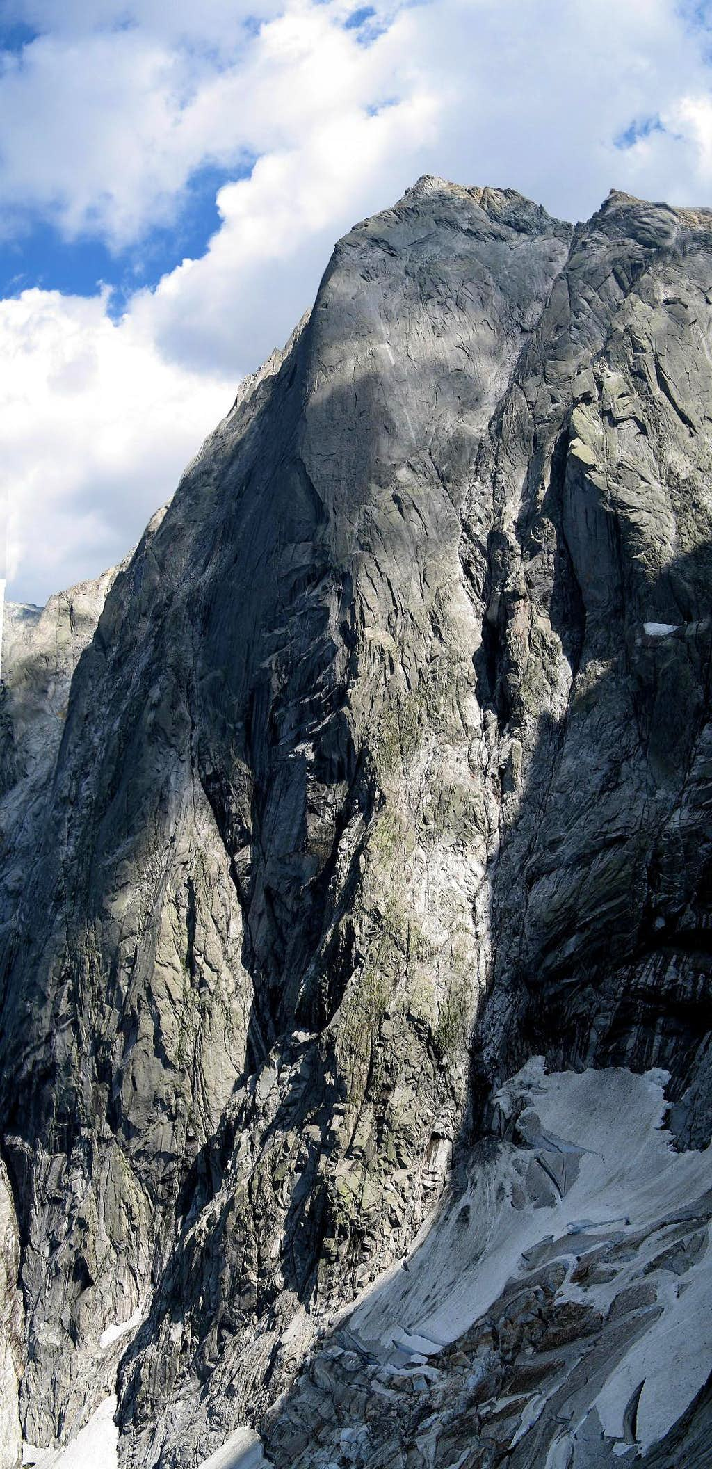 NW flank of Pizzo Cengalo