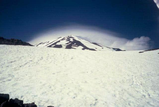 Mt Adams making its own...