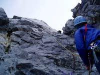 Roche Perdrix - Chimney Route