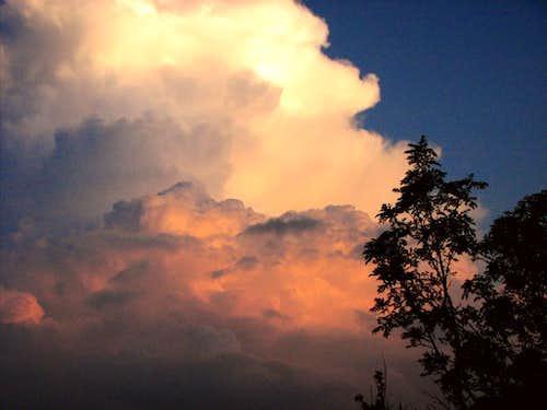 Litting clouds