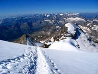 from the route to Gran Paradiso