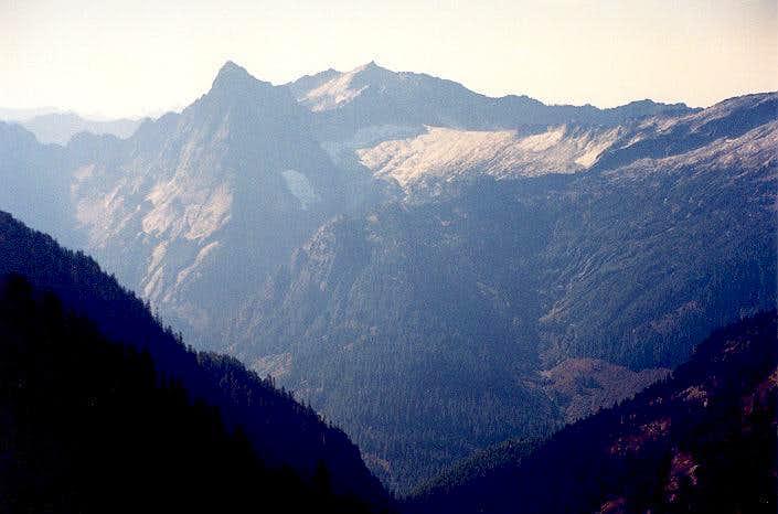 Sperry Peak and Vesper Peak...