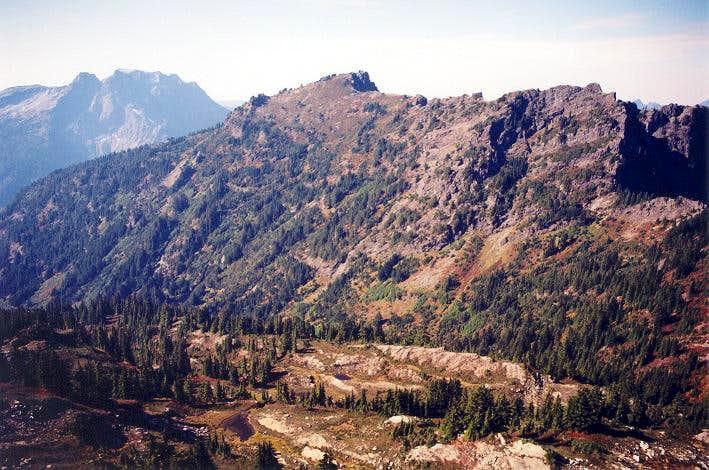 Mt. Dickerman as seen from...