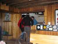 Inside Refugio José Ribas