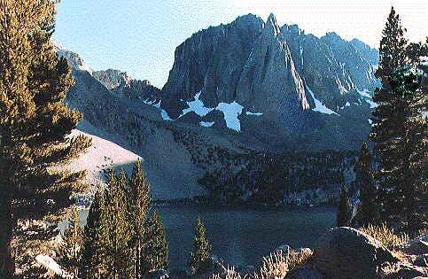 Temple Crag and Second Lake...