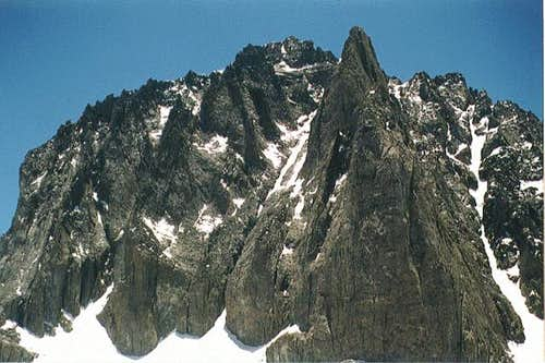 Temple Crag under the noonday...