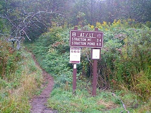Trailhead to Stratton Mountain