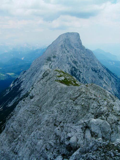 The west-ridge of Hohe Munde