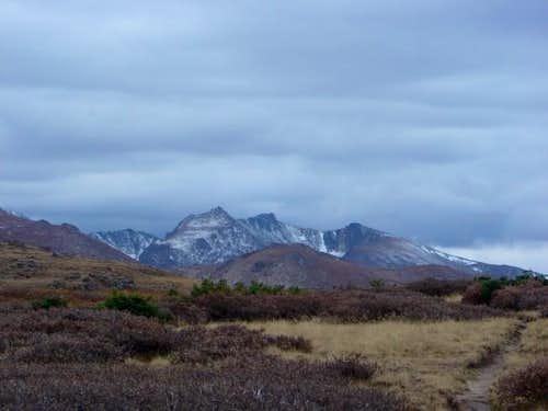 View of Desolation Peaks...