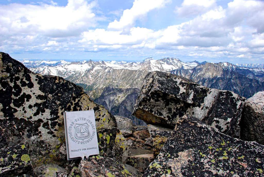 North Trapper Summit Register