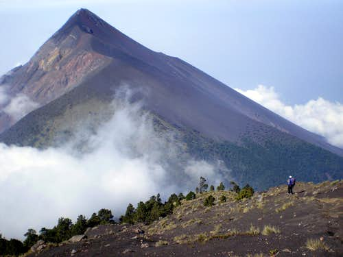 Volcano Treking in Guatemala