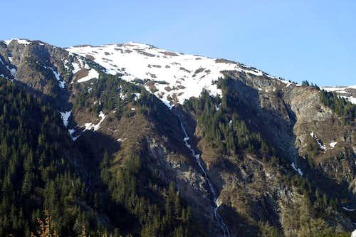 Melting Icewater on Mt. Juneau