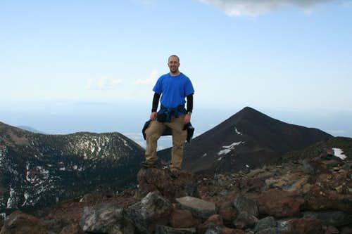 Me on top of Humphrey\'s Peak