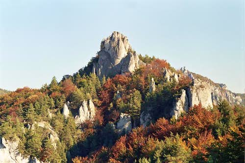 Summit of Hrad
