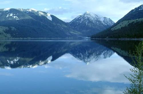 Wallowa Lake is one of the...