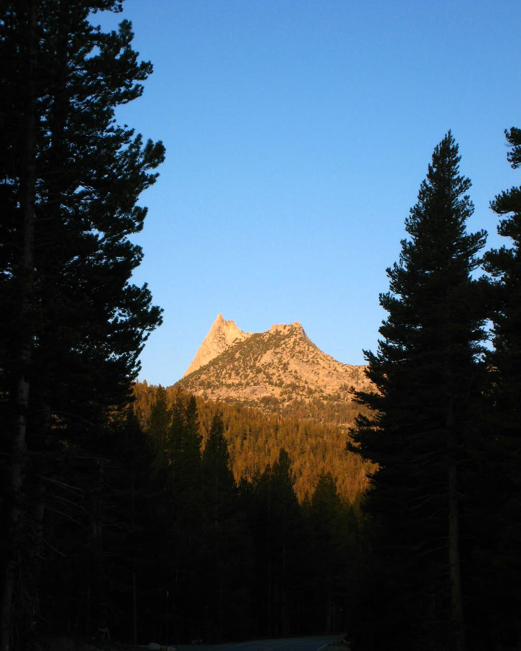 First Look at Cathedral Peak